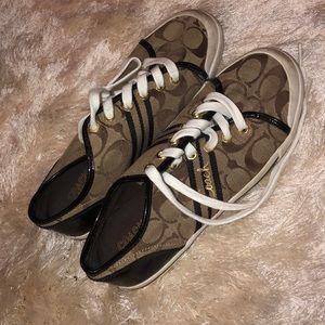 Coach tennis shoes
